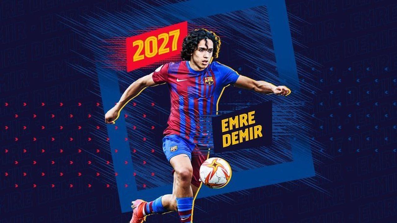 Barcelona'dan yeni transferi Emre Demir'e övgü