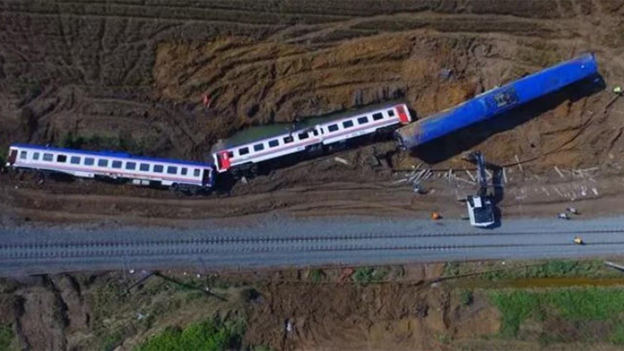 TCDD'den Çorlu tren kazası açıklaması