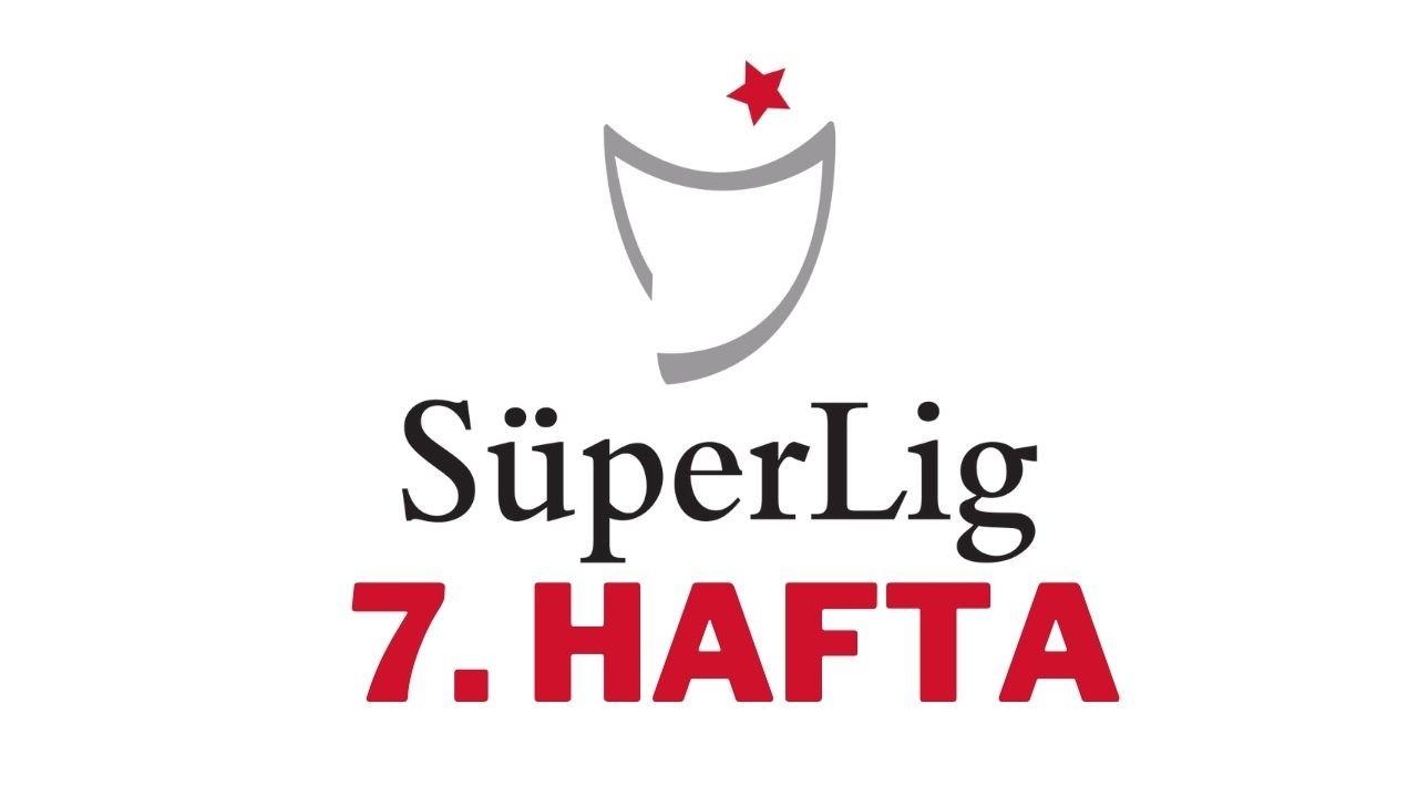 Süper Lig'de 7. hafta bu akşam başlıyor