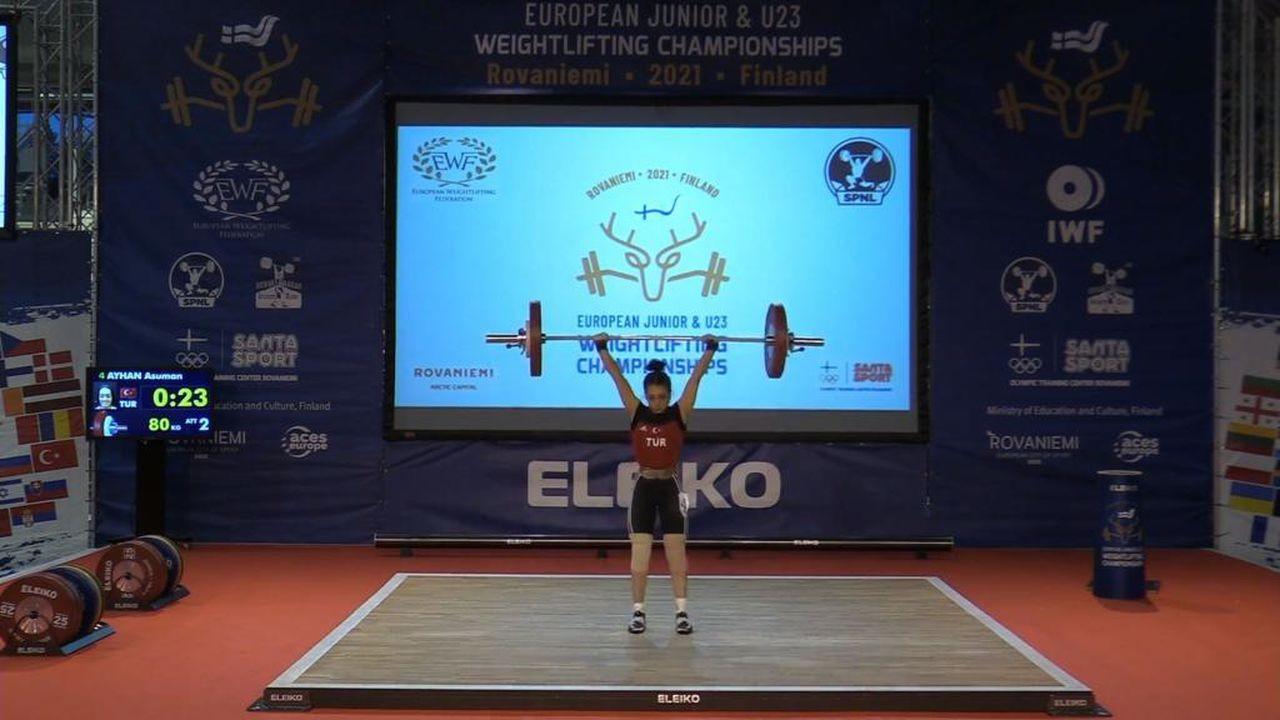Asuman Ayhan, Avrupa ikincisi oldu