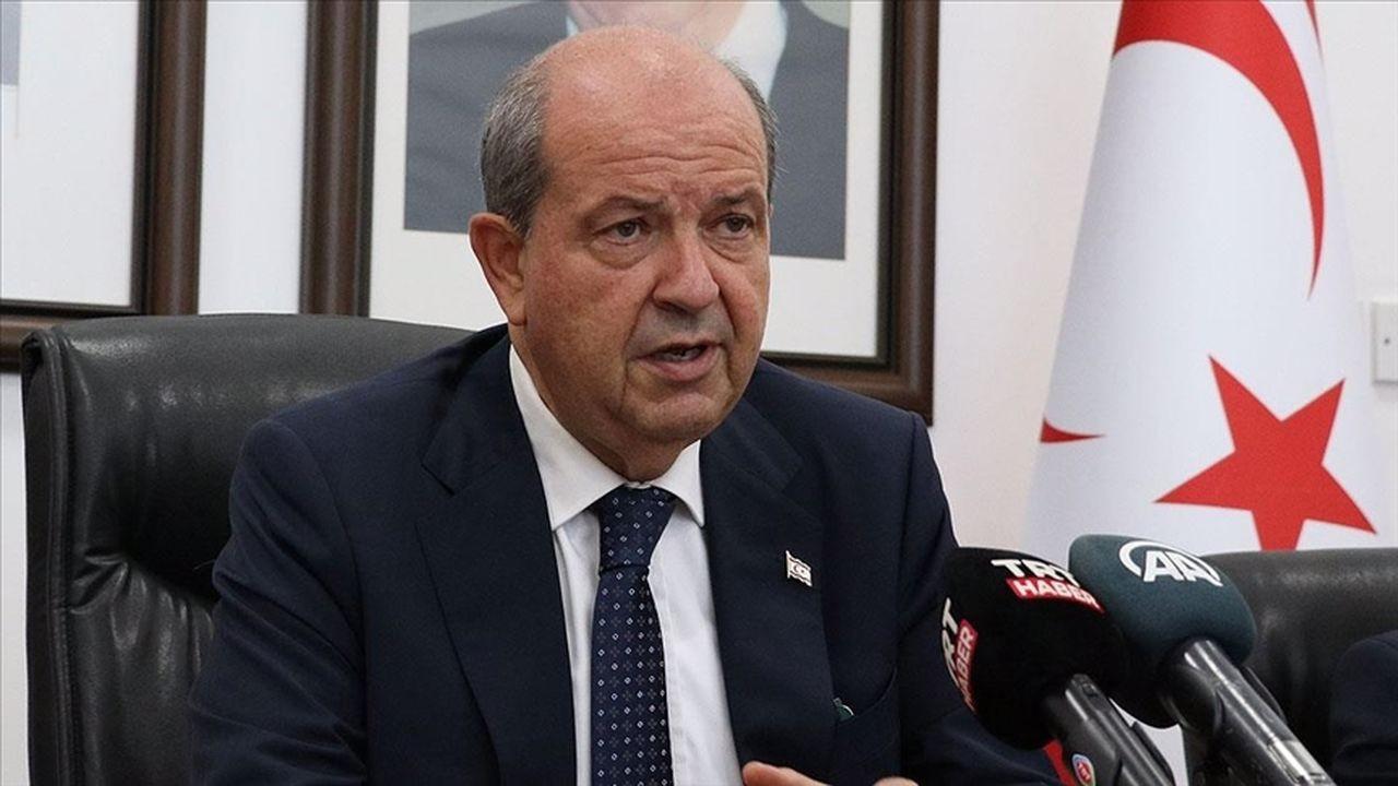 KKTC Cumhurbaşkanı Tatar Anastasiadis'i eleştirdi