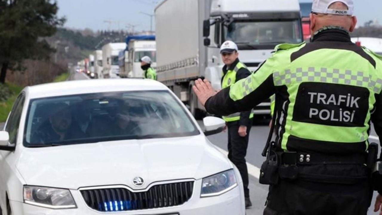 Çakarlı trafik magandalarına ceza yağdı