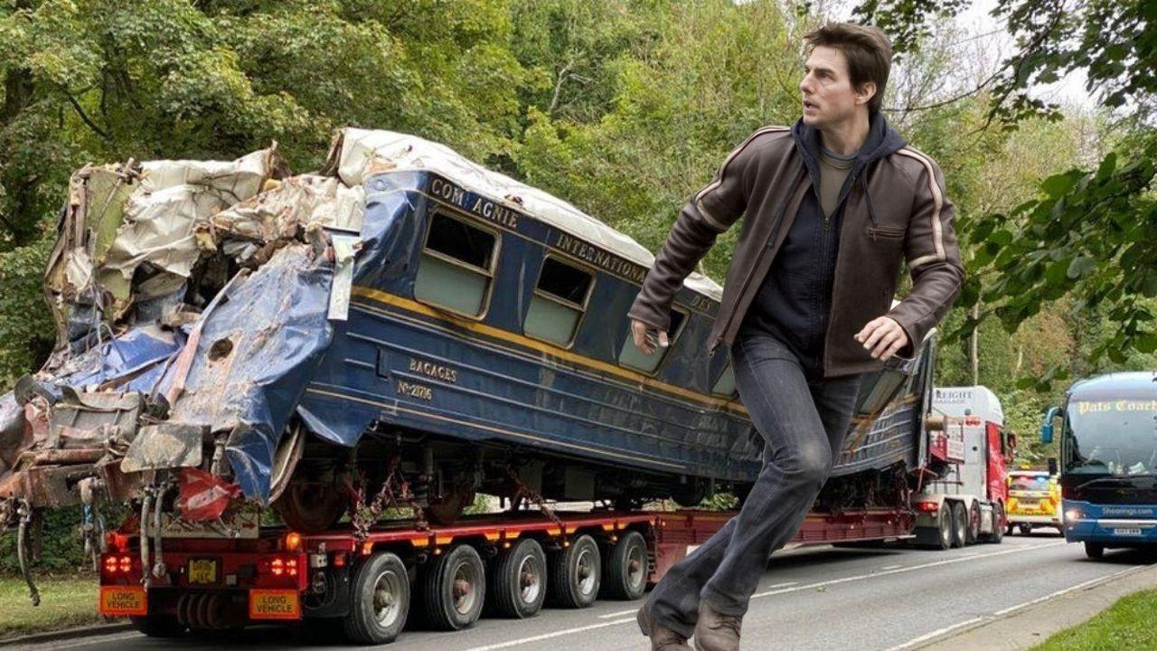 Görevimiz Tehlike 7 filminin setinde tren kazası
