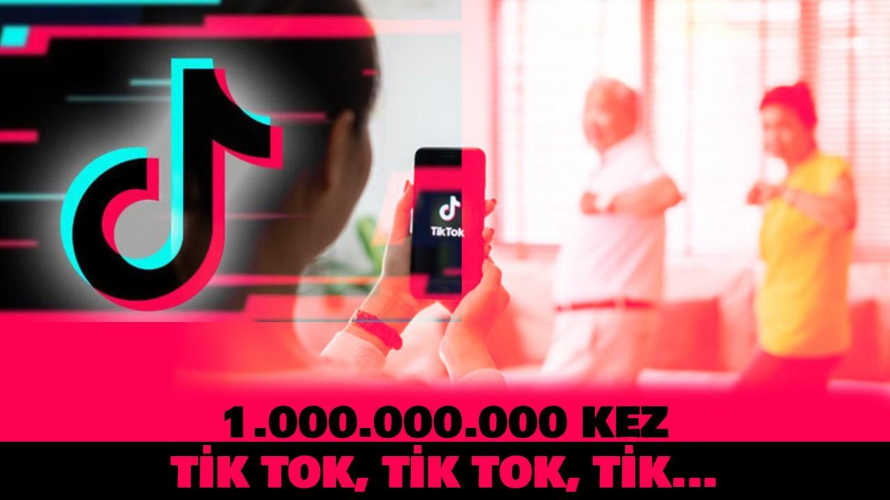 1.000.000.000 kez Tik Tok, Tik Tok, Tik.....
