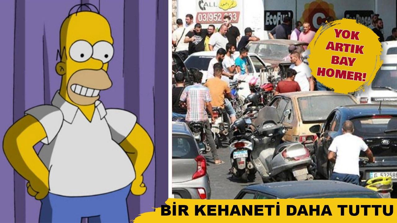 Simpsons dizisinin bir kehaneti daha tuttu!