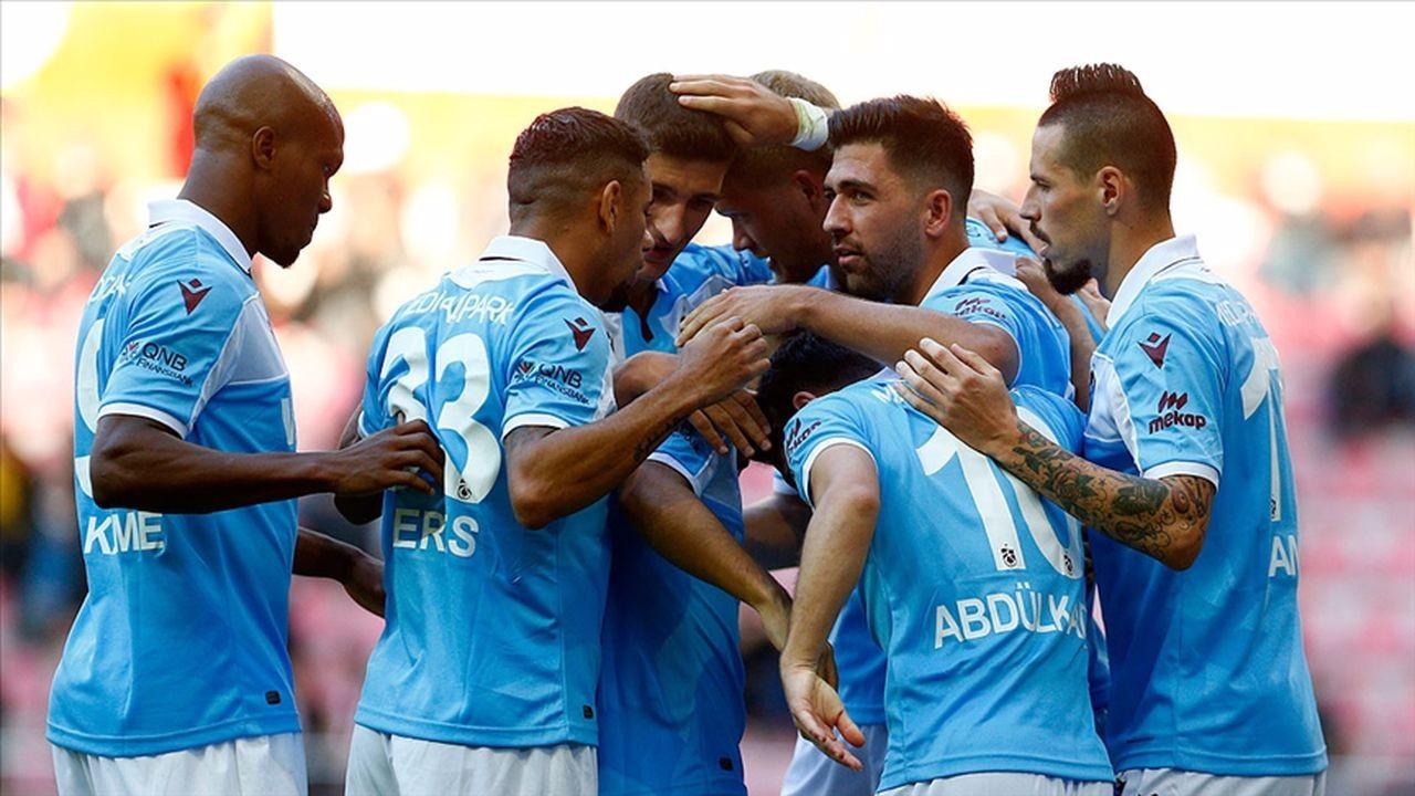 Trabzonspor maç fazlasıyla lider