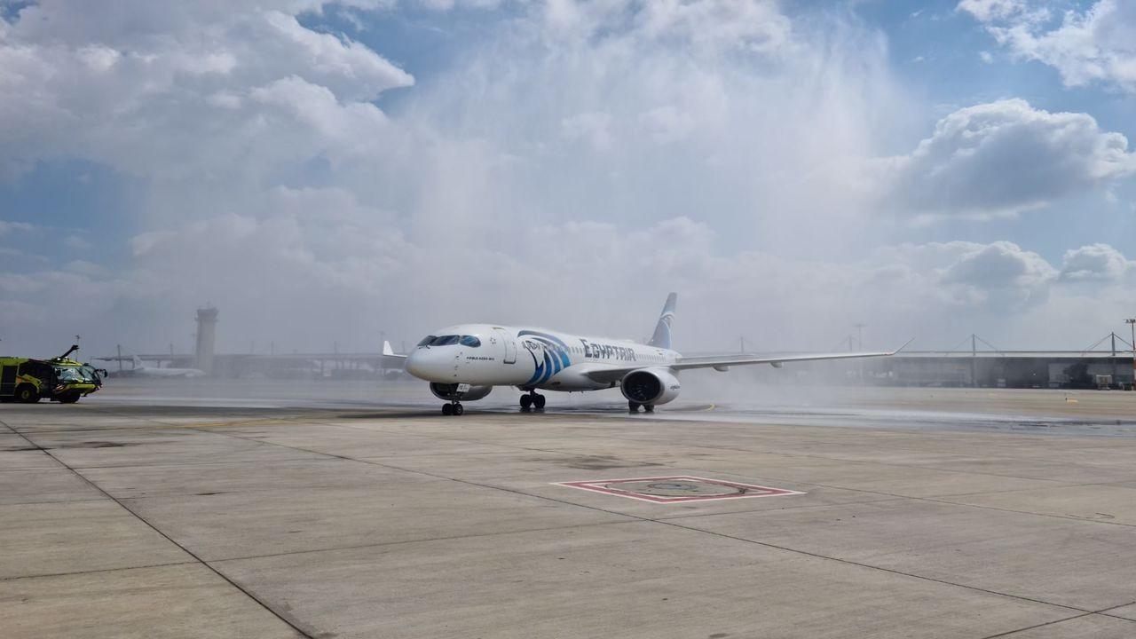 Mısır Hava Yollarından İsrail'e ilk uçuş