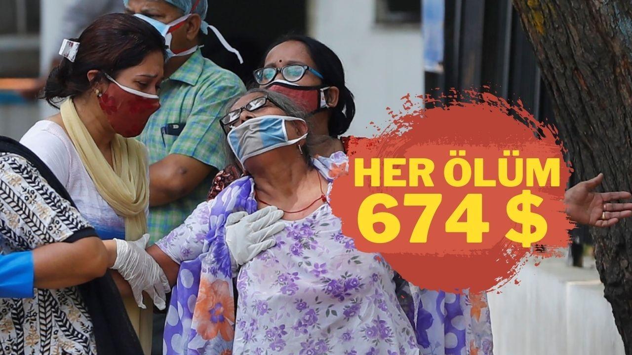 Hindistan Kovid-19 ölümlerine tazminat ödeyecek