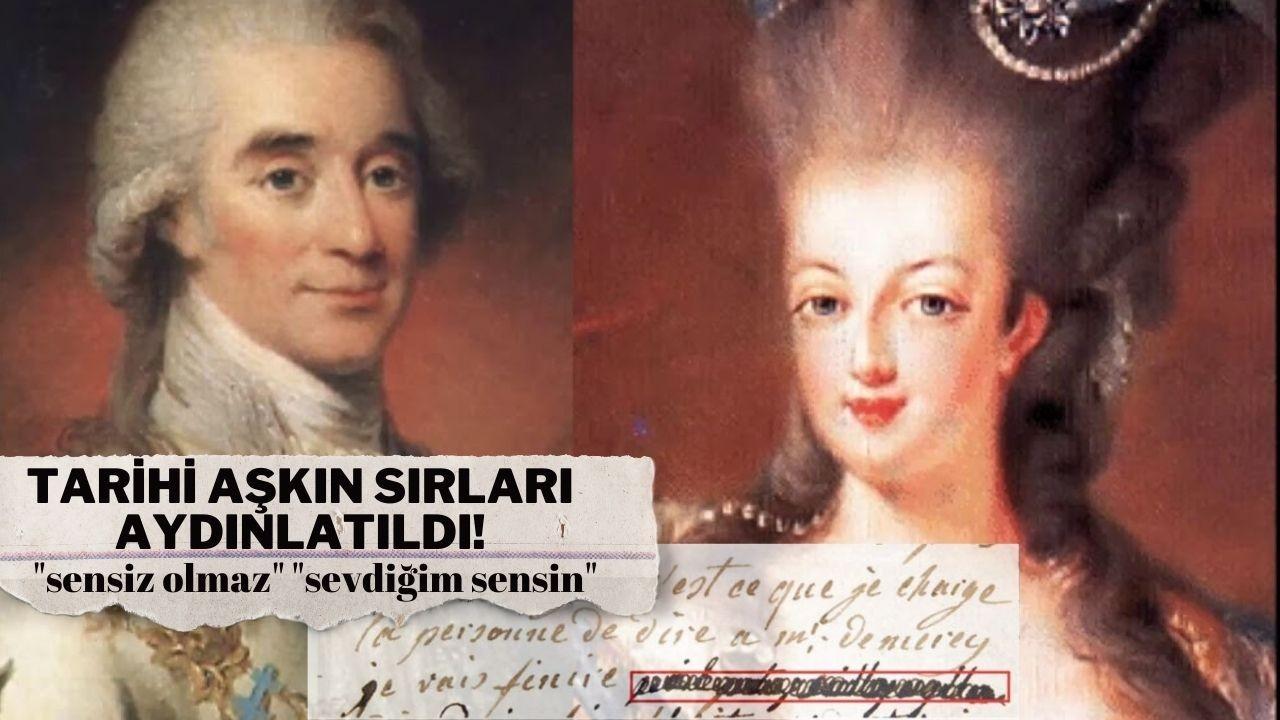 Marie Antoinette - Axel von Fersen aşkı çözülüyor