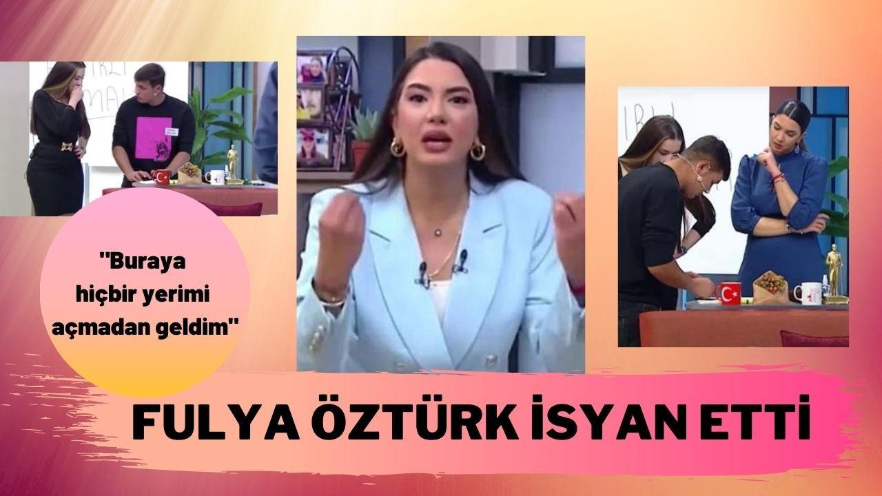 Cinsel içerikli video tepkileri Fulya Öztürk'ü