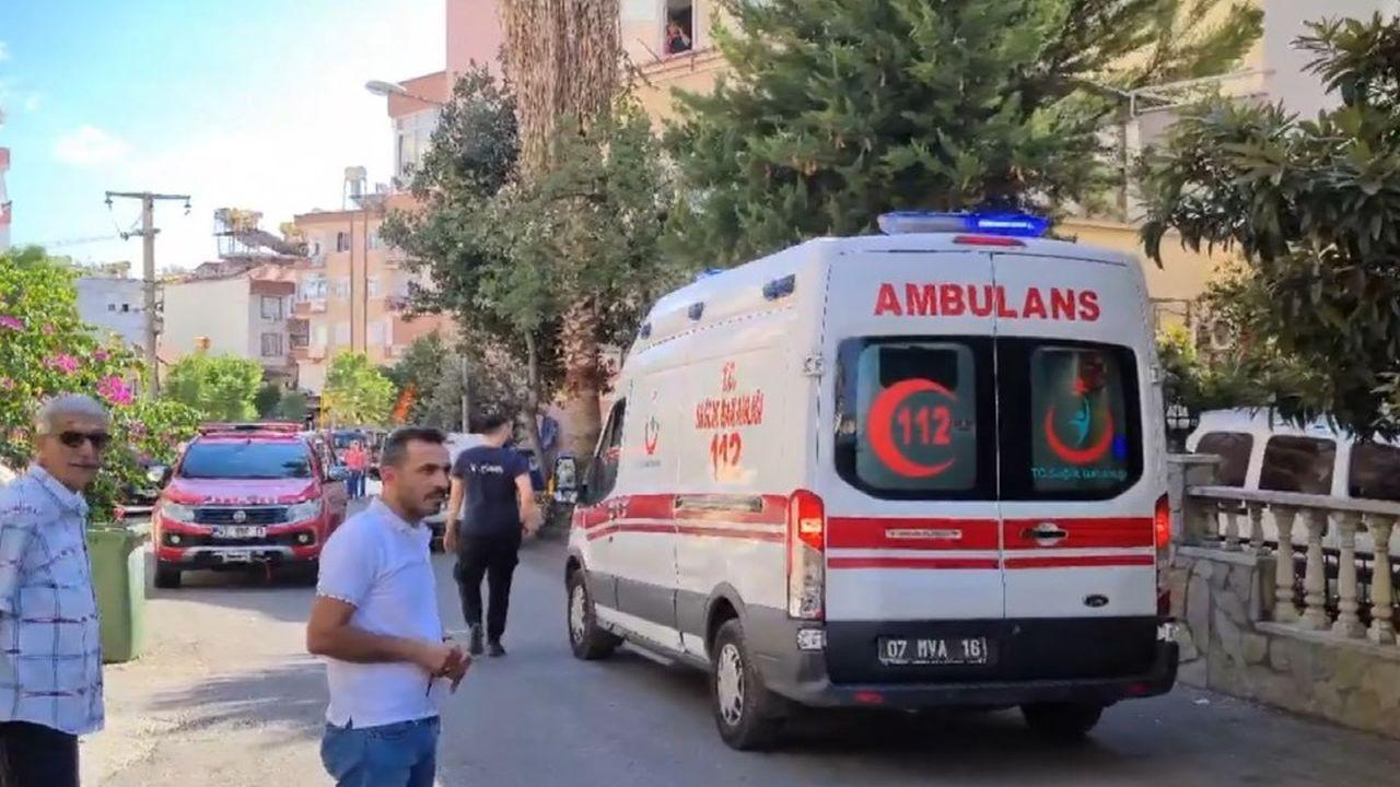Antalya'da dehşet: anne evi ateşe verdi