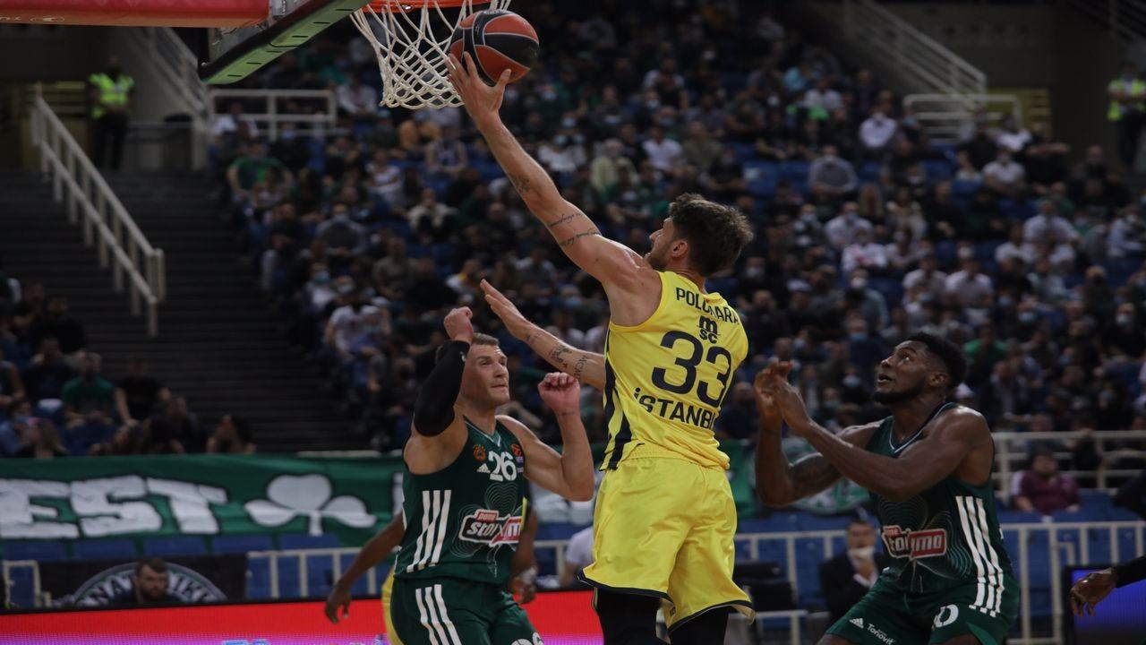 Panathinaikos OPAP: 91 - Fenerbahçe Beko: 87