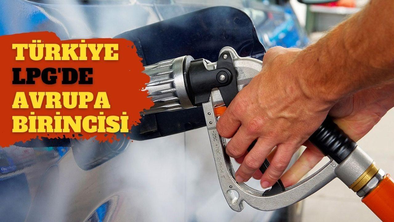 Türkiye LPG kullanımında Avrupa birincisi
