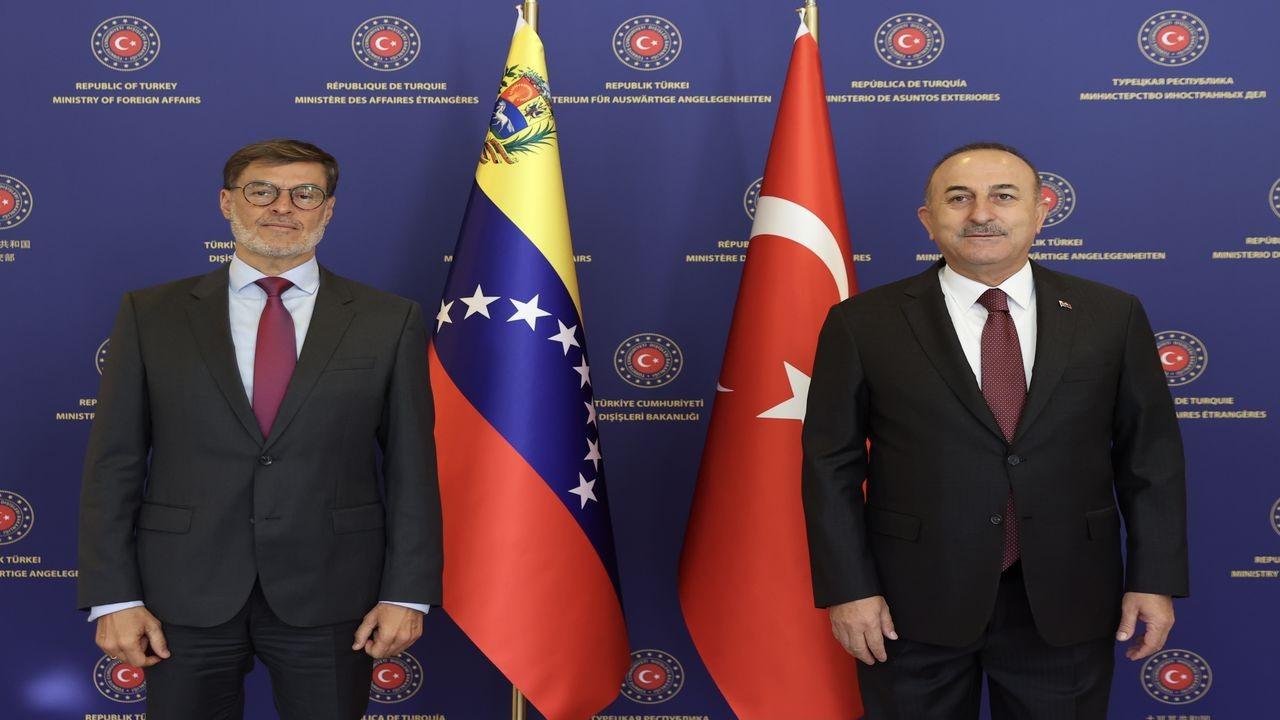 Çavuşoğlu, Venezuela Dışişleri Bakanıyla görüştü