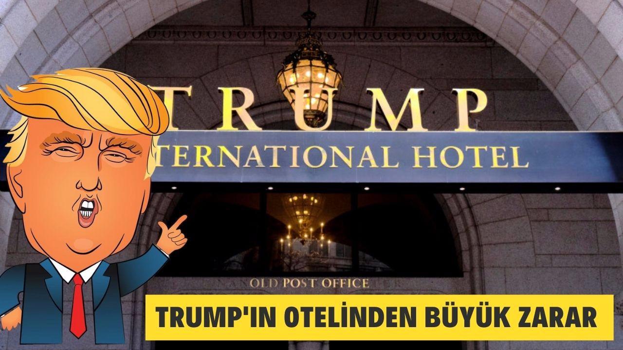 Trump'ın otelinden büyük zarar