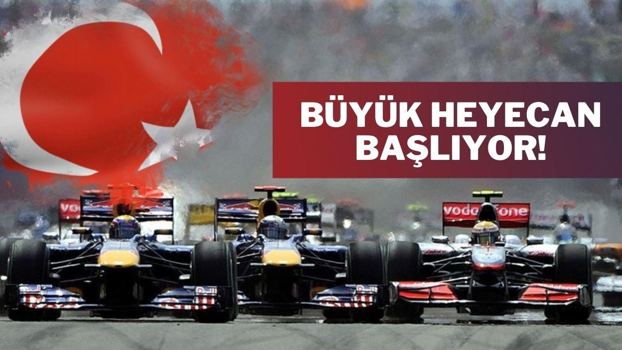 Formula 1 Türkiye Grand Prix'inde nefesler tutuldu