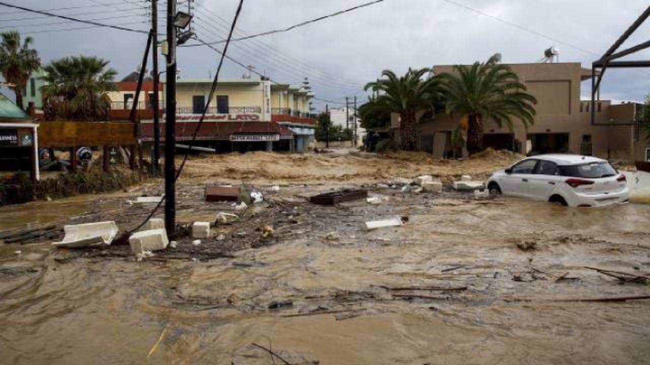 Eğriboz Adası'nda seller maddi zarara yol açtı