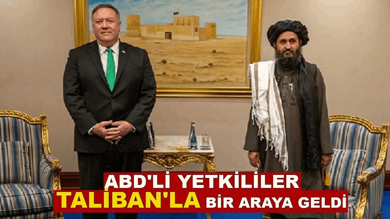 ABD'li yetkililer Taliban'la bir araya geldi