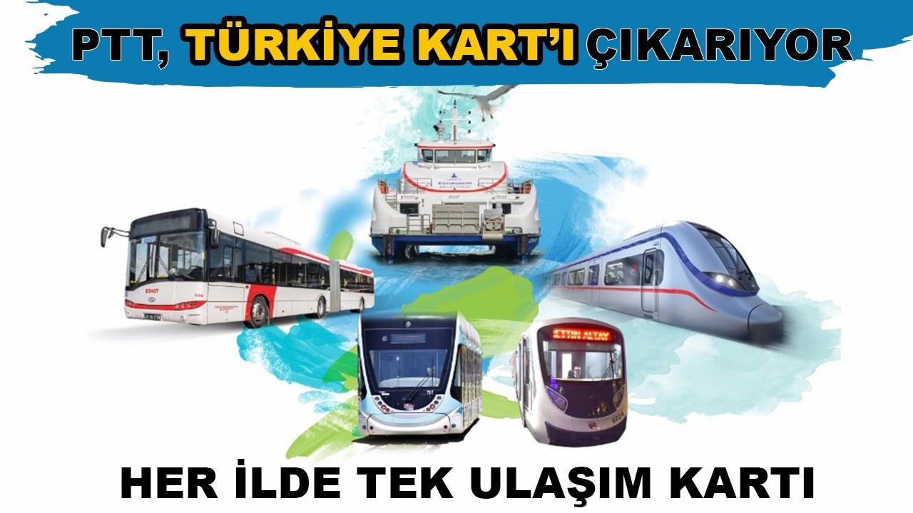 PTT, Türkiye Kart'ı çıkarıyor