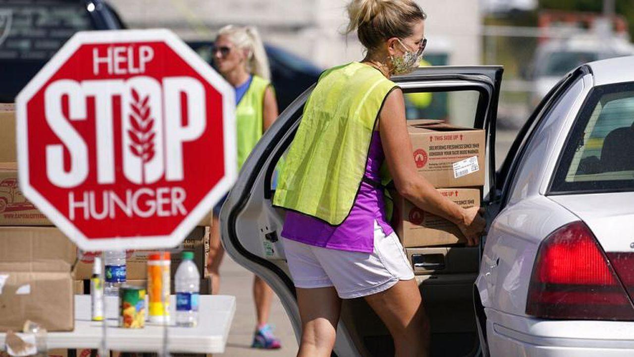 ABD'de milyonlarca kişi gıda yardımı alıyor