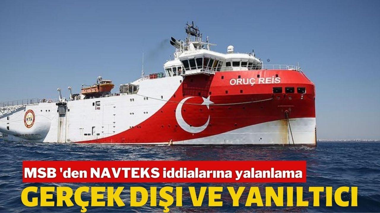 MSB, NAVTEX iddialarına haritalarla yanıt verdi