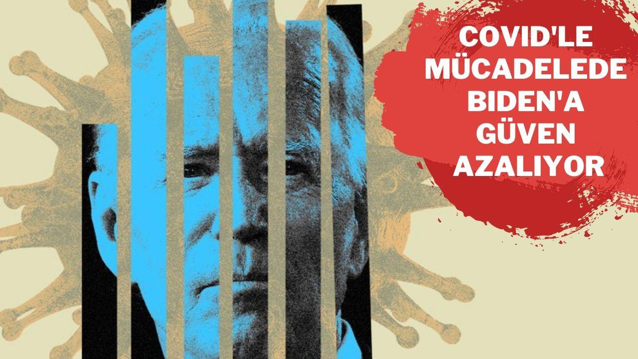 COVID-19'la mücadelede Biden'a güven azalıyor