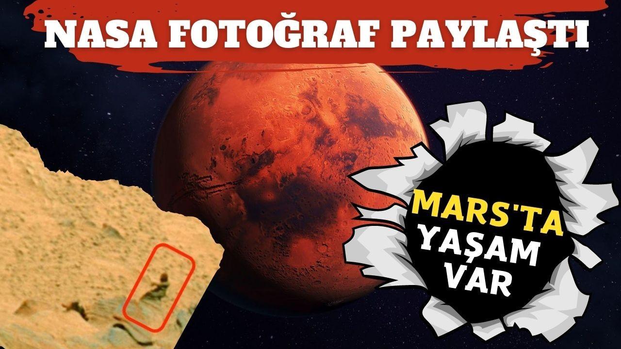 Mars'ta yaşam olabileceğine dair kanıt bulundu