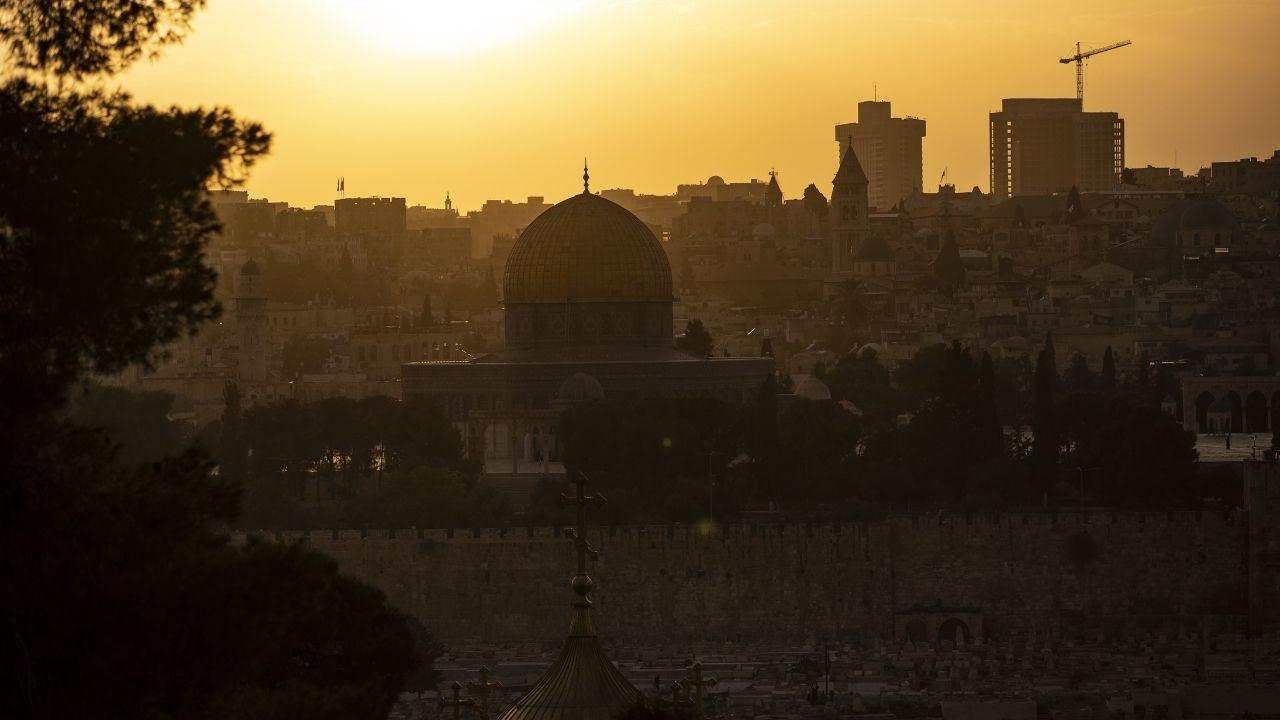 Eşsiz güzelliği ile Kudüs'ten gün batımı manzaraları - Sayfa 4