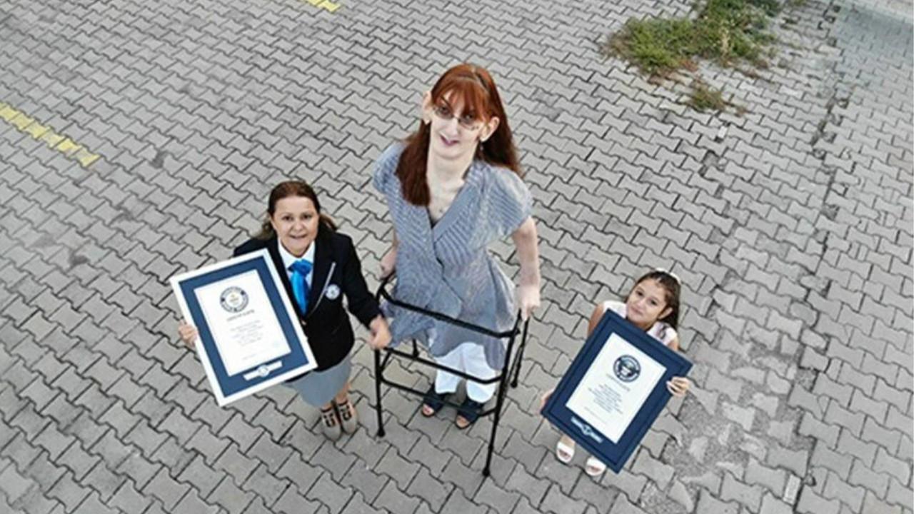 Rümeysa Gelgi, Guinness Rekorlar Kitabı'na girdi