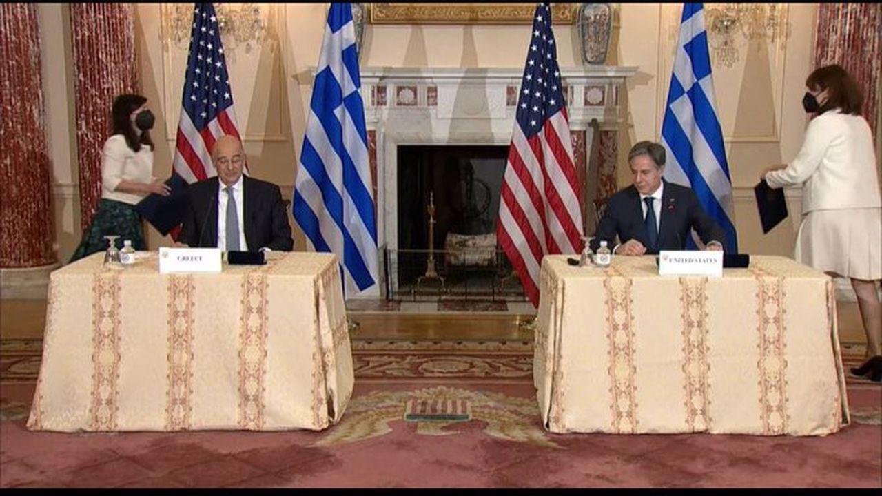 ABD ile Yunanistan Savunma Anlaşması'nı güncelledi