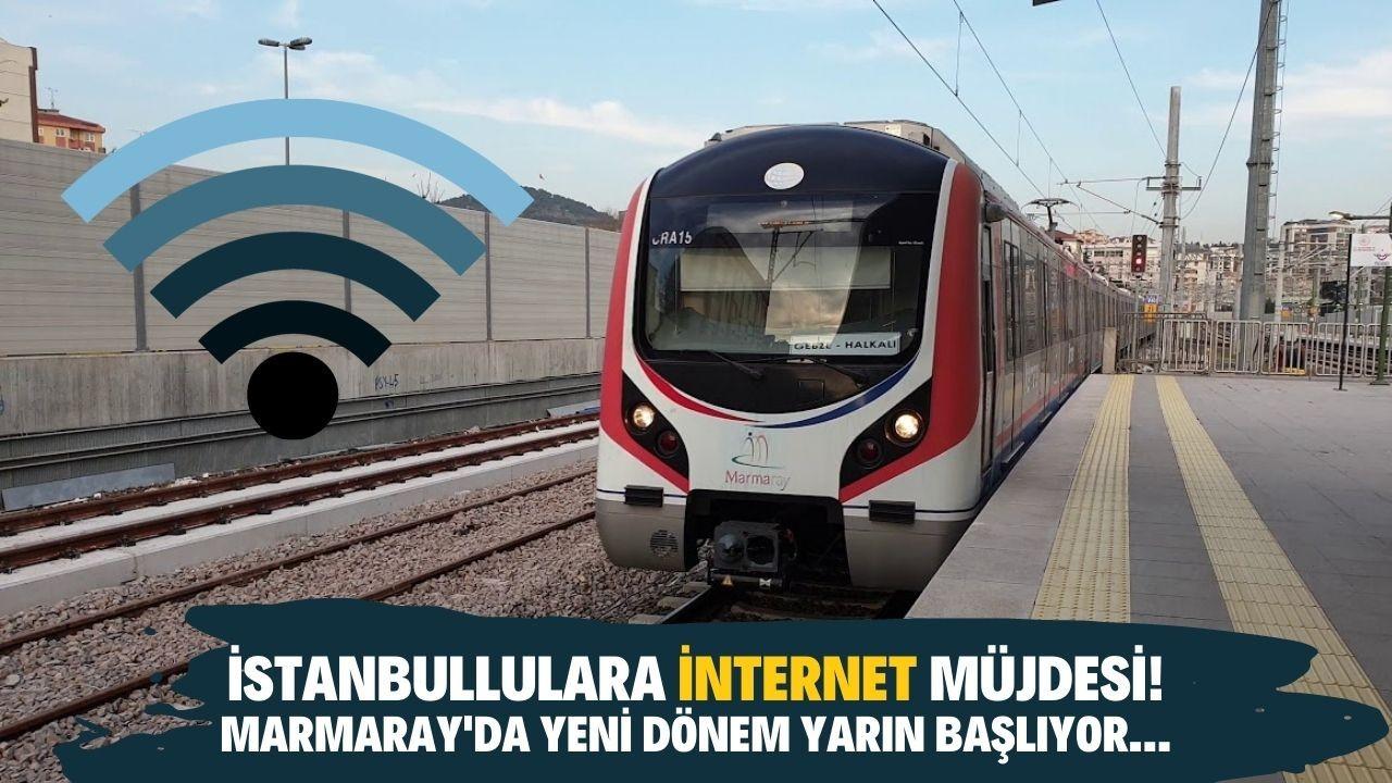 Marmaray'da yeni dönem yarın başlıyor