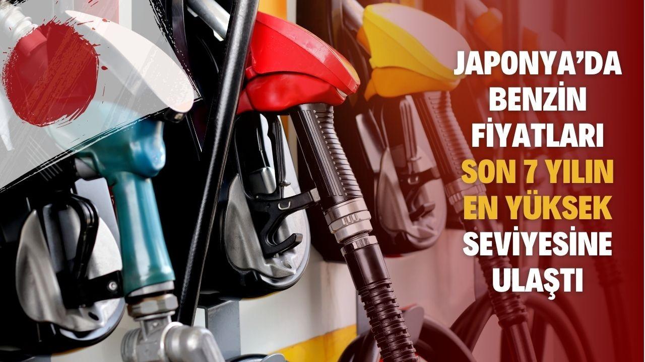 Japonya'da benzin fiyatları son 7 yılın en yüksek