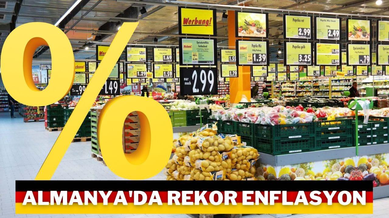 Enflasyon Almanya'ya geri döndü