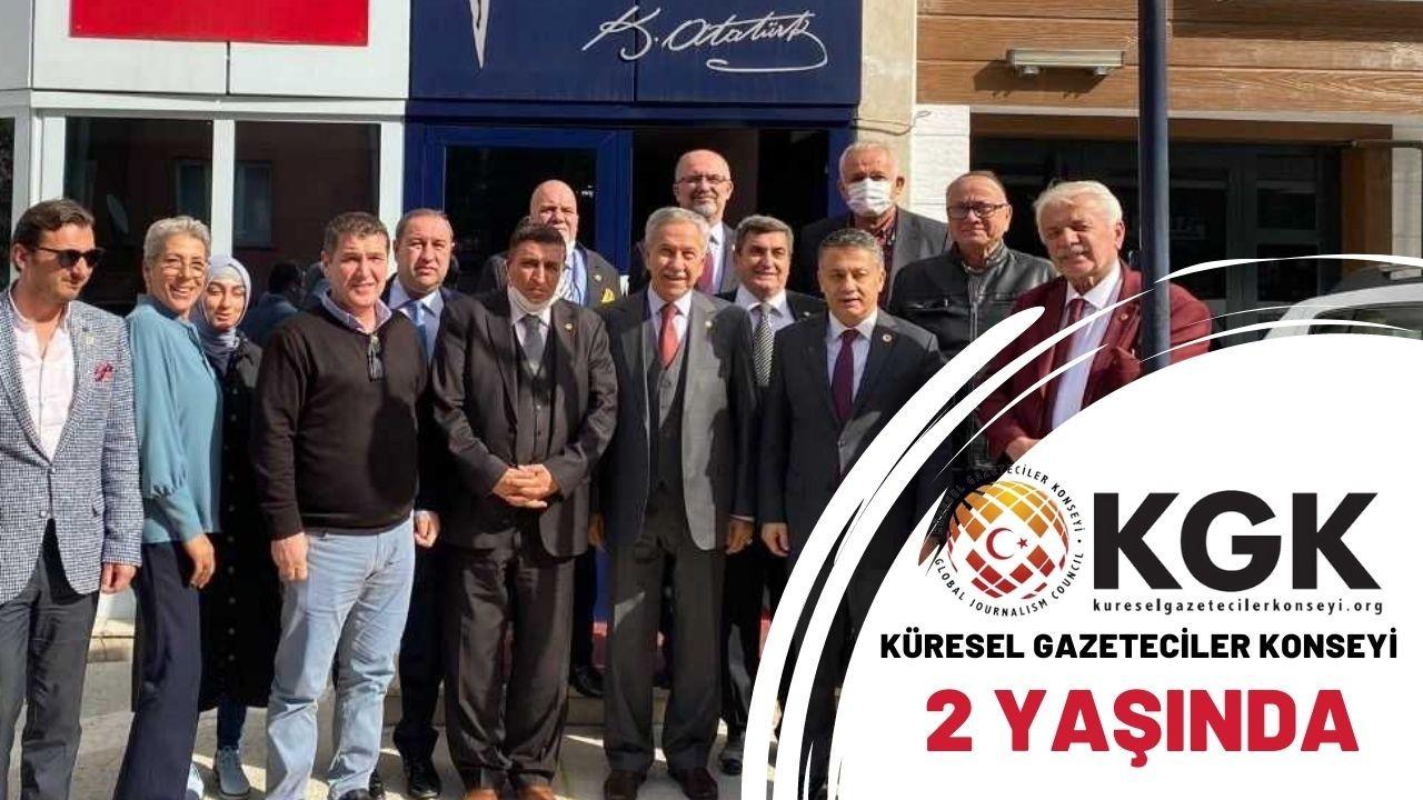 Küresel Gazeteciler Konseyi Ankara'da 2. yaşını kutladı