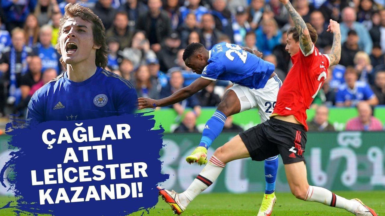 Çağlar attı Leicester kazandı!