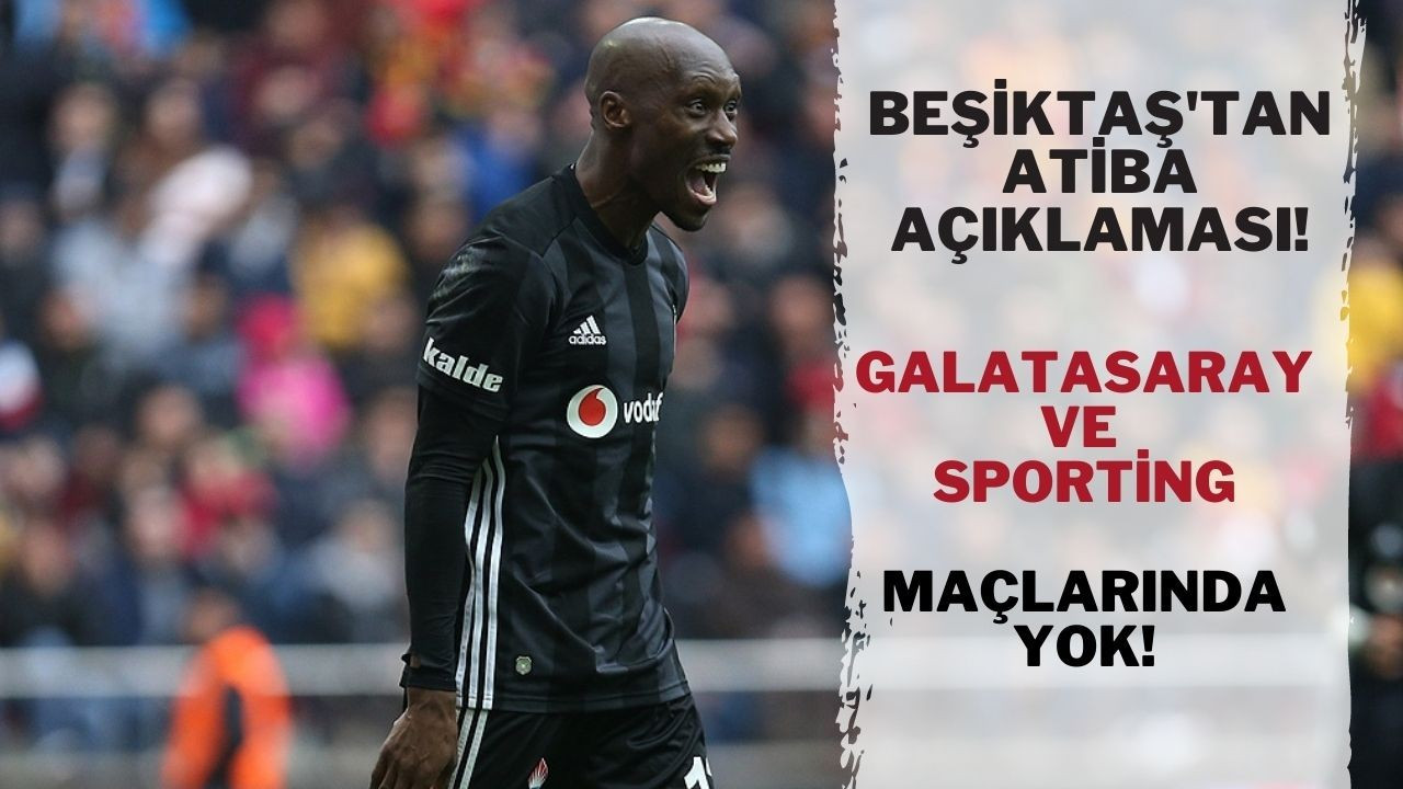Atiba sakatlandı! Lisbon ve Galatasaray maçlarında yok