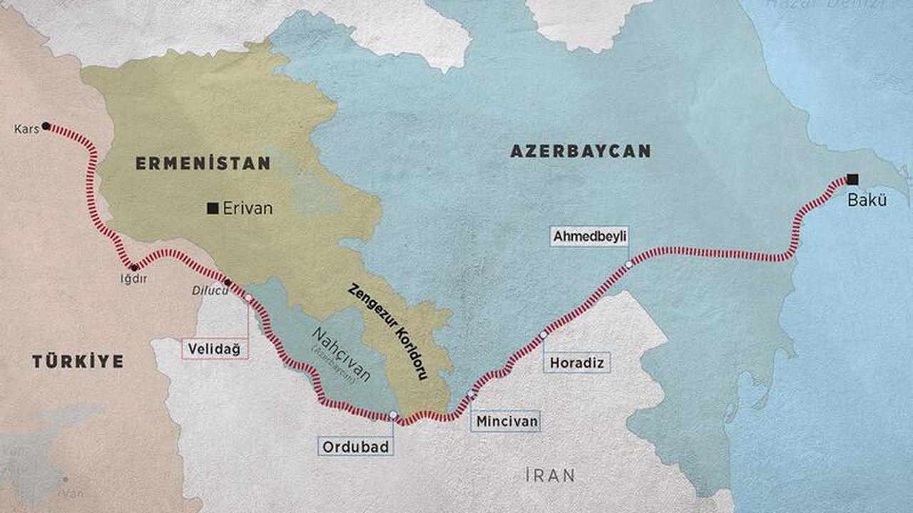 Paşinyan duyurdu: Ermenistan'dan Zengezur Koridoru'na yeşil ışık!
