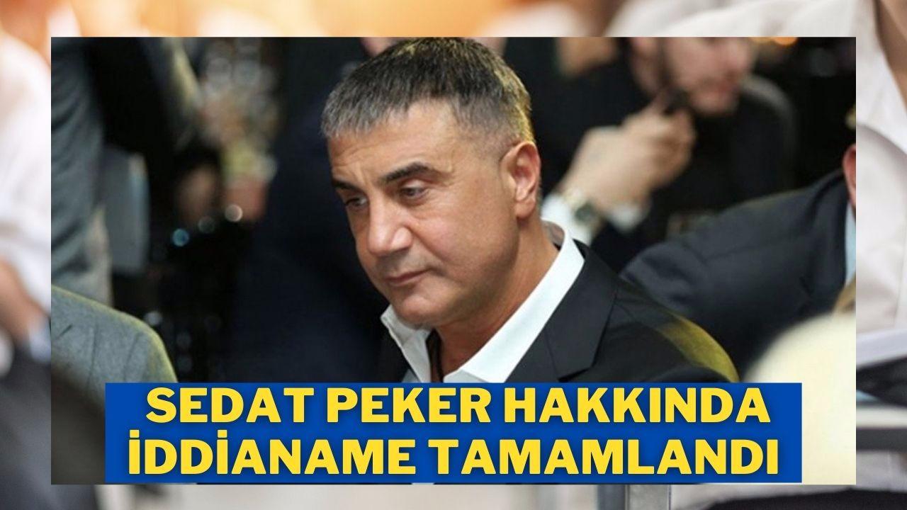 Sedat Peker hakkında iddianame