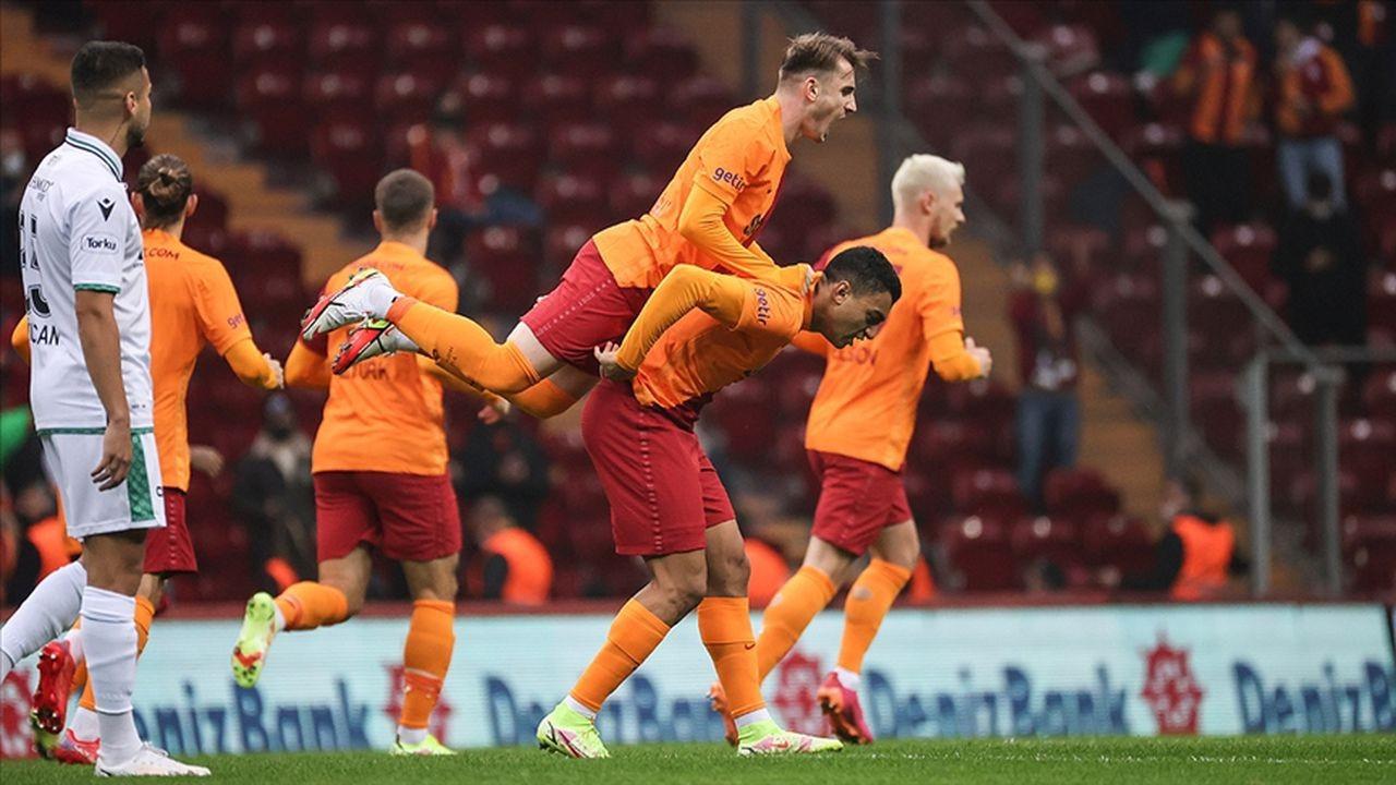 Galatasaray İttifak Holding Konyaspor'u 1-0 yendi