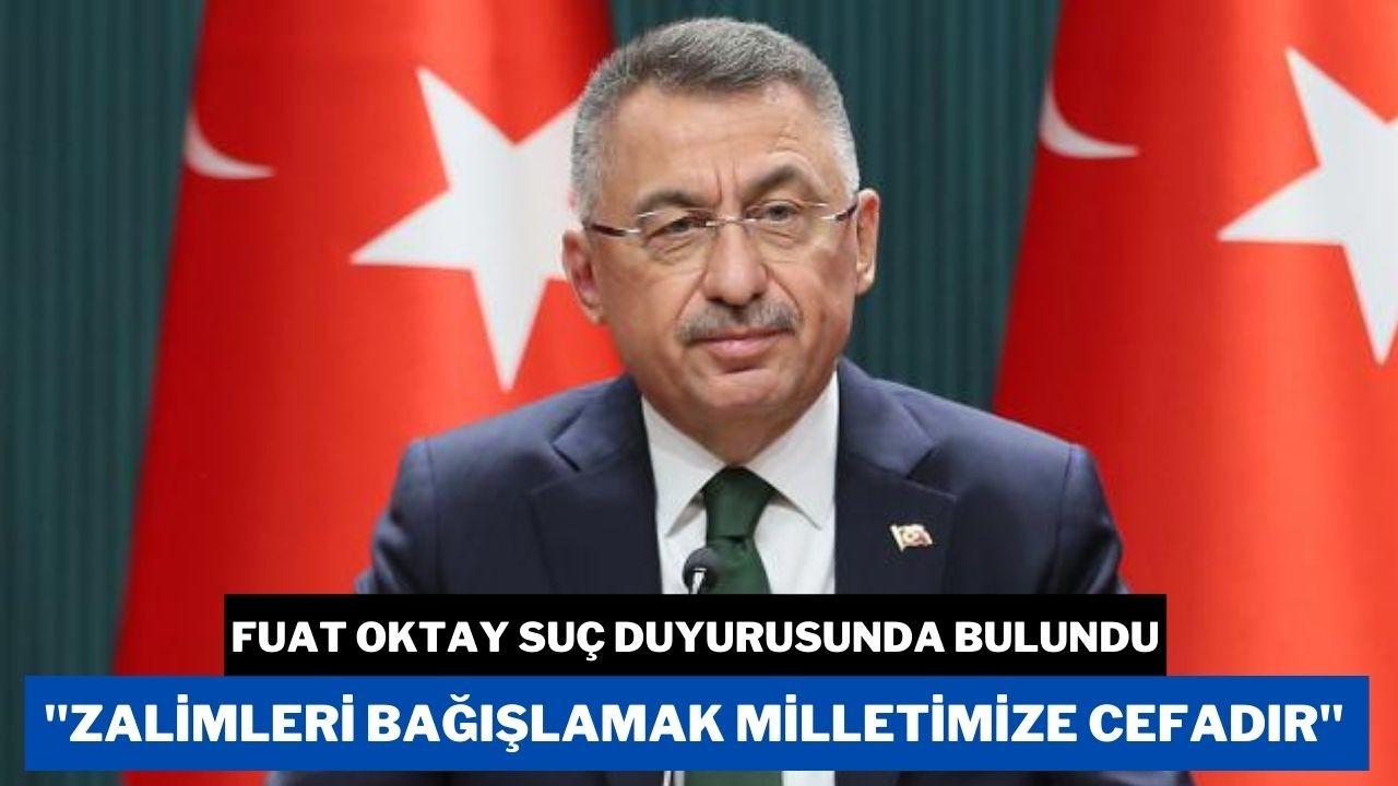 Cumhurbaşkanı Yardımcısı Oktay'dan suç duyurusu