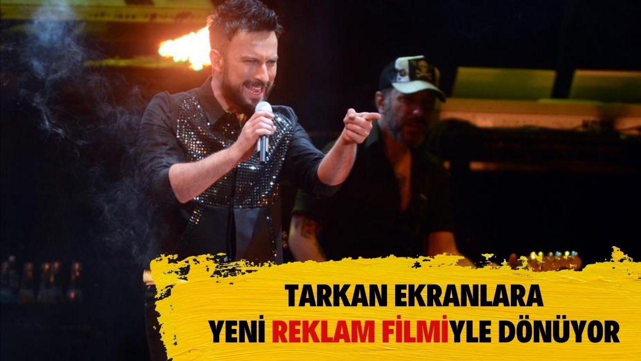Megastar Tarkan yeni reklam filmiyle ekranlara dönüyor