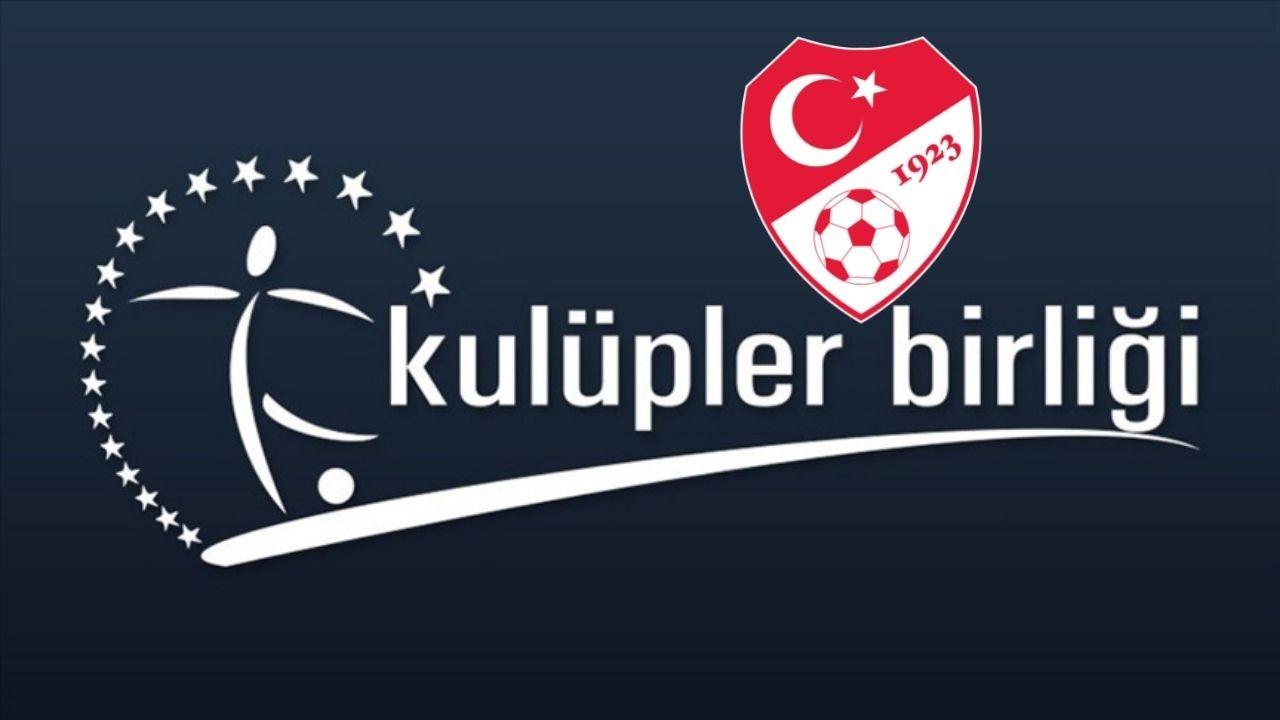 TFF ile Kulüpler Birliği, MHK'yı görüştü