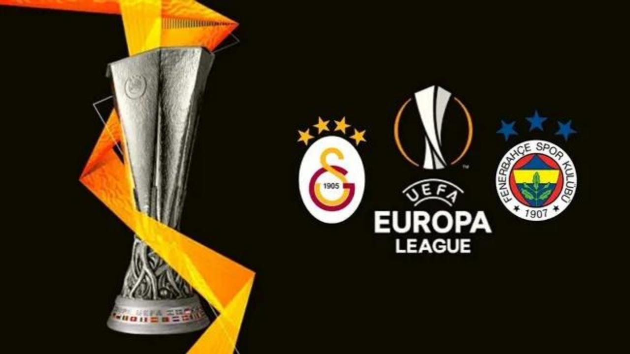 UEFA Avrupa Ligi'nde Galatasaray ve Fenerbahçe sahne alacak