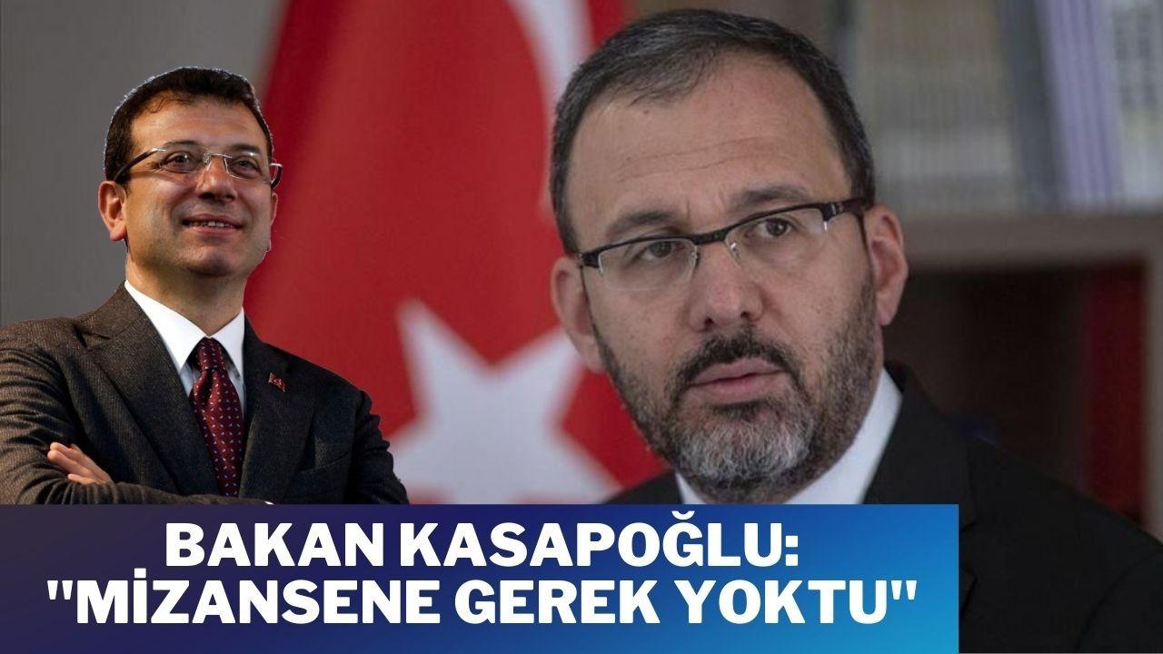 """Kasapoğlu'ndan, İmamoğlu'na İETT tepkisi: """"Mizansene gerek yoktu"""""""