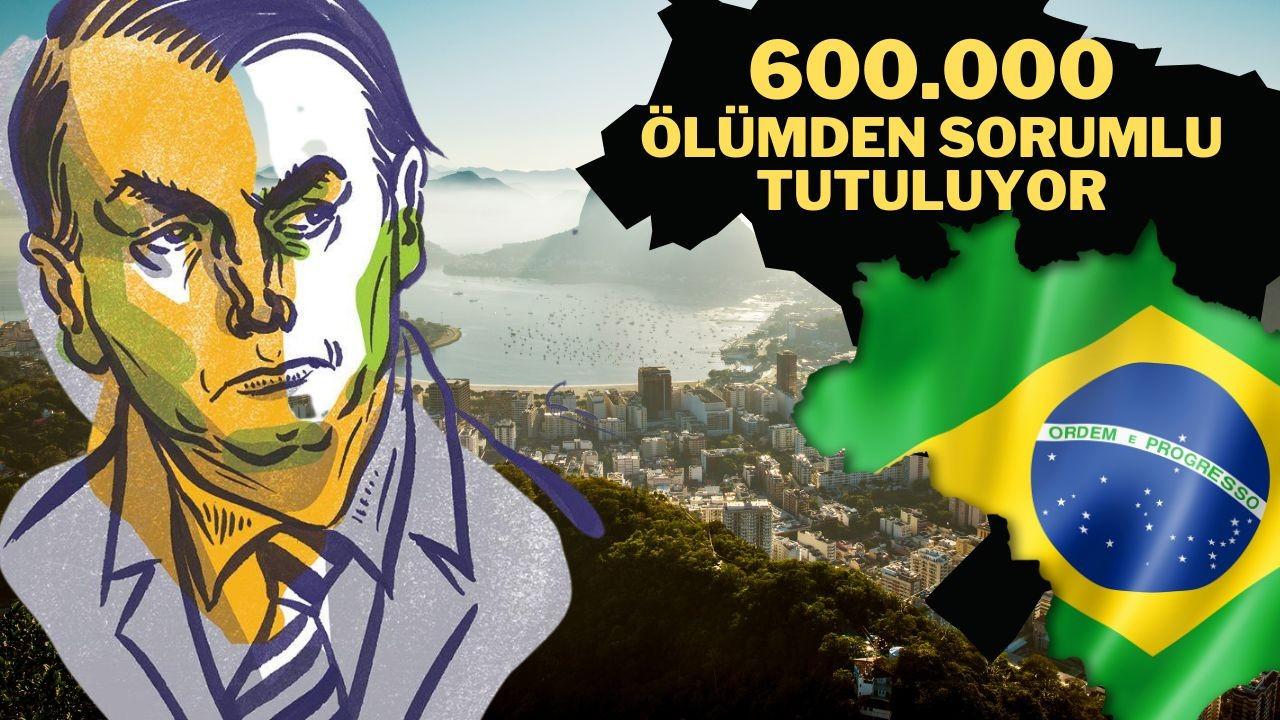 """Brezilya'da Senato raporu: """"Bolsonaro, ülkedeki Covid-19 ölümlerindeki rolü nedeniyle yargılanmalı"""""""