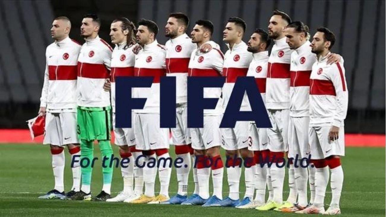 A Milli Futbol Takımı FİFA dünya sıralamasında yükseldi
