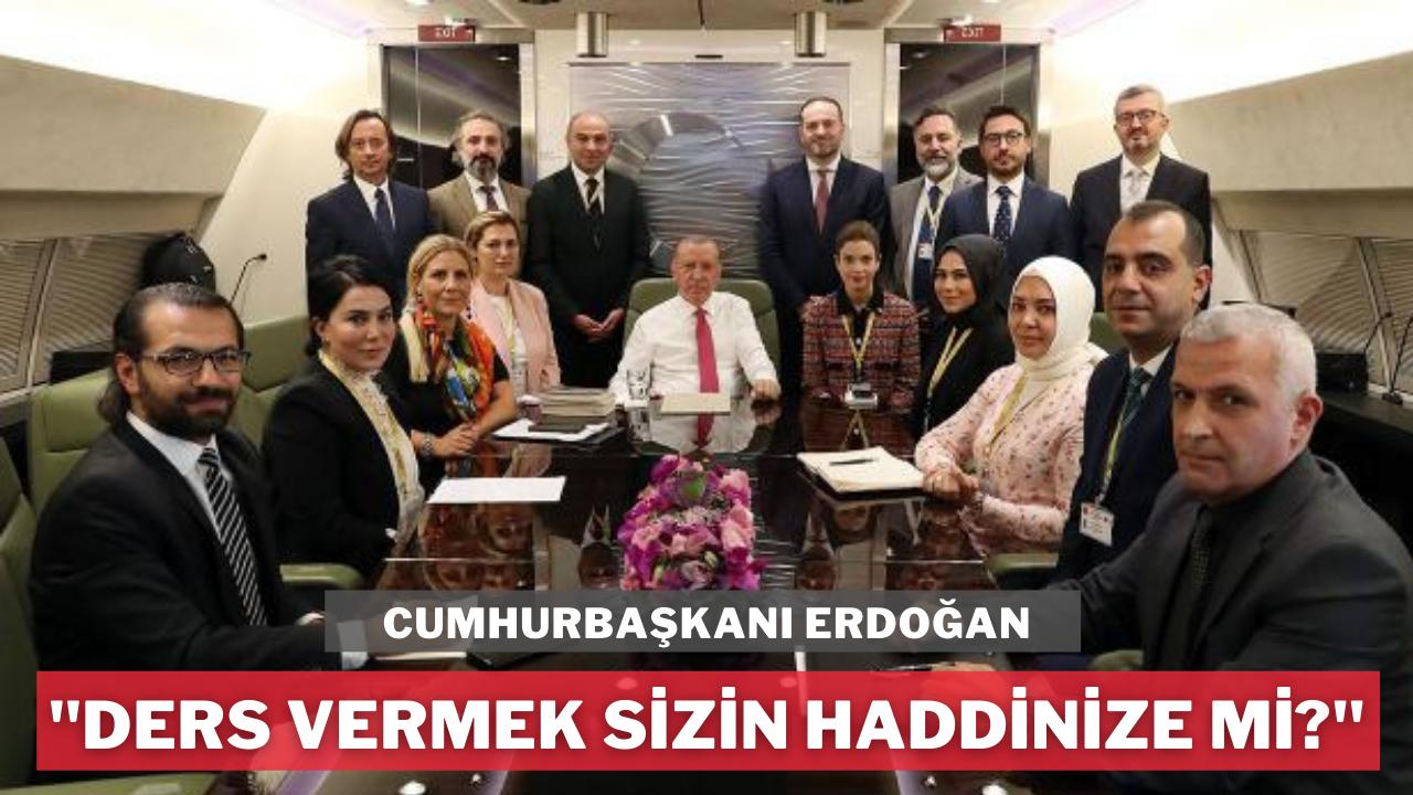 Erdoğan'dan, 10 büyükelçiye Osman Kavala tepkisi
