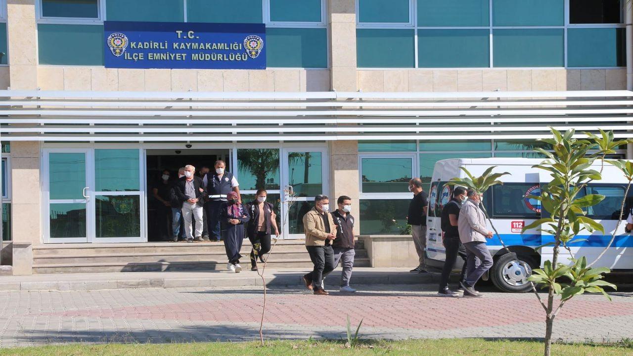 Osmaniye'de FETÖ/PDY hükümlüsü 7 kişi yakalandı