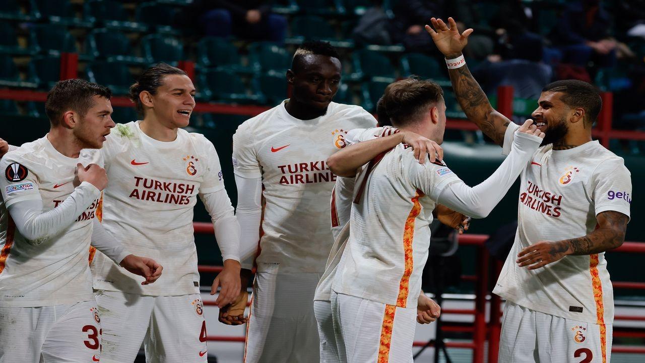 Galatasaray, Rusya'dan 3 puanla dönüyor