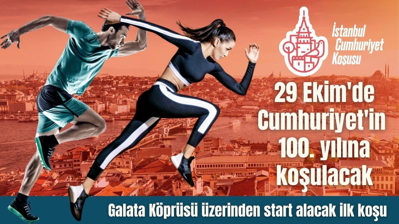 """İstanbul, 29 Ekim'de """"Cumhuriyet'in 100. yılına koşacak"""""""